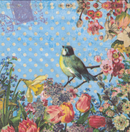 VIntage Bird, servet