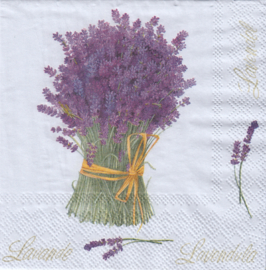 Lavender Bouqet , cocktail servet