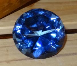 Kristal Blauw, # 50mm