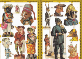 Mamelok, Poëzieplaatjes Golden serie