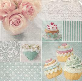 Cupcakes, servet