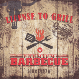 License to Grill, servet