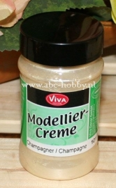 Perlmutt Champagner, Moddelier Crème
