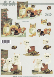 Katten, 3D Knipvel Le Suh