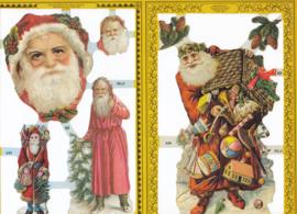 Kerstman, poëzieplaatje Golden serie
