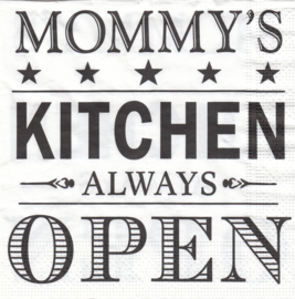 Mommy's Kitchen, servet