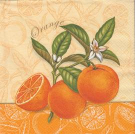 Orange, servet