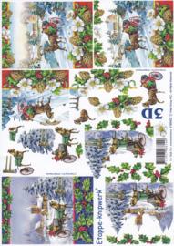 Nostalgische Kerst, 3d Le Suh