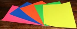 Fluor Karton A4, 200 gram