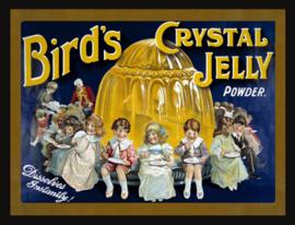 Wandbord metaal Crystal Jelly