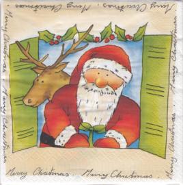 Kerstman, servet