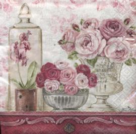 Shabby roses, servet