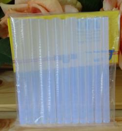 Transparante lijmpatronen