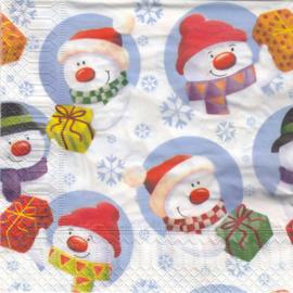 Sneeuwpop,  servet