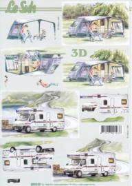 Camping, 3D Knipvel Le Suh