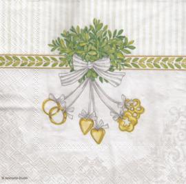 Wedding symbols, servet