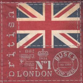 British Flag, servet