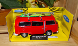 Volkswagen T2, rood