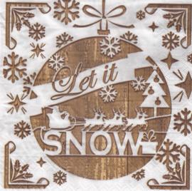 Let it Snow, servet