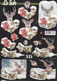 Hert, 3D knipvel Le Suh
