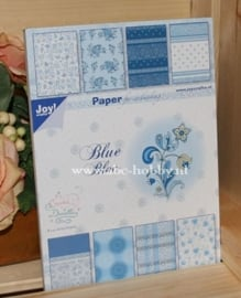 Paper Block, Blue Bloc