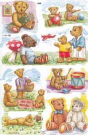 Teddyberen, poëzieplaatje Mamelok