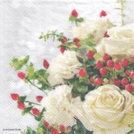 Christmas rose, servet