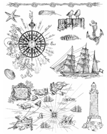 Maritiem, Clear stamp
