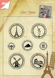 Stedentrip, Clear stamp