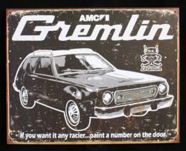 Wandbord metaal Gremlin automerk