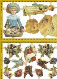 Victoriaans, poëzieplaatje Golden serie