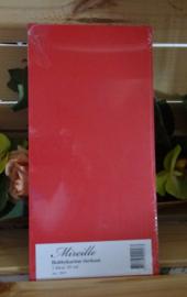 Kerst rood hobby karton, pak 220 gram