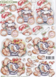 Kerstbeer, 3d stansvel Le Suh