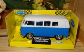 Volkswagenbusje Classic, blauw