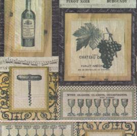 Wijn & Druiven, servet
