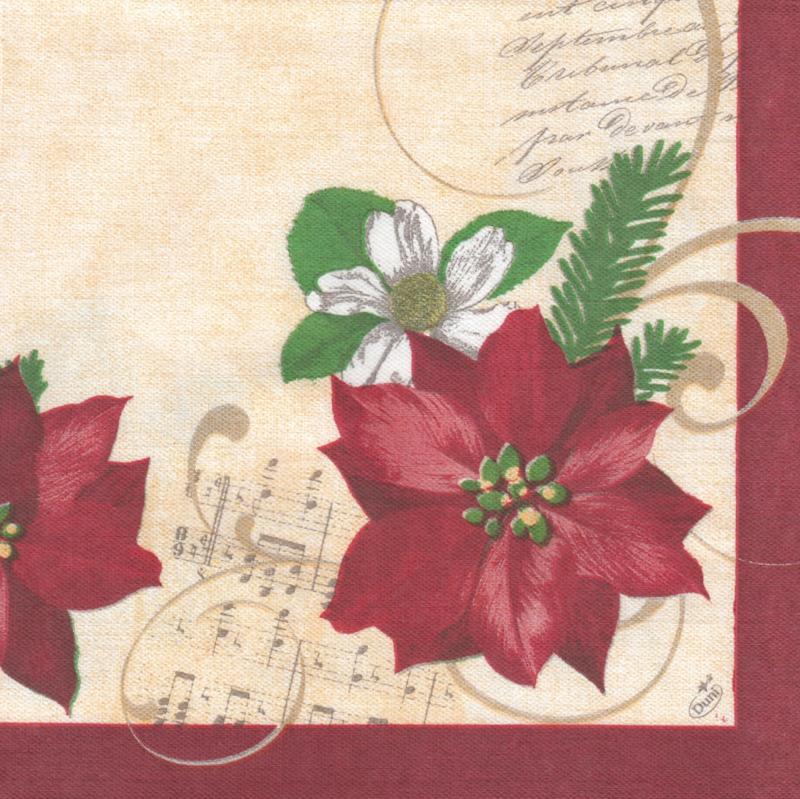 Christmas Flowers, XL servet
