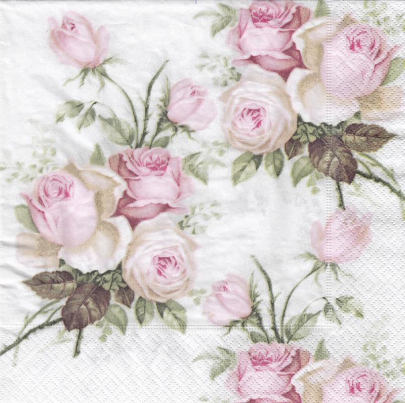 Vintage Roses, XL servet