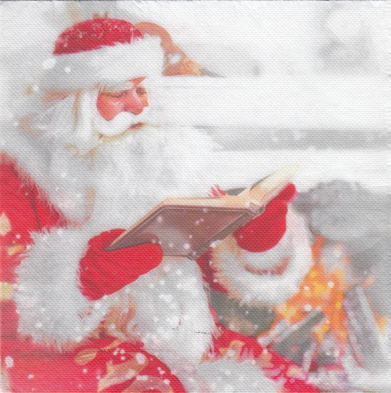 Reading Santa, XL servet