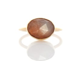Peach Moonstone 'One of a kind'