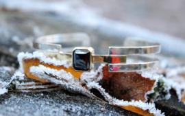 Lijnen klemarmband
