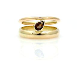 ´Teardrop´ ring