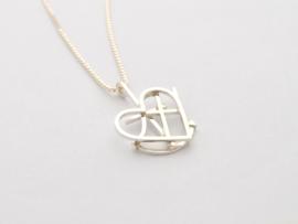 Faith, hope, love and initials