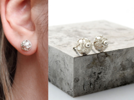 Zilveren oorknopje