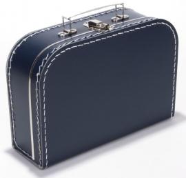 Koffer DONKERBLAUW