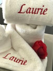 Maxi set Handdoeken gepersonaliseerd