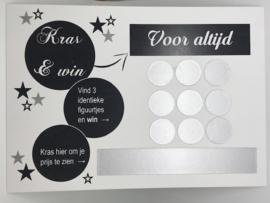 Kraskaart KRAS & WIN