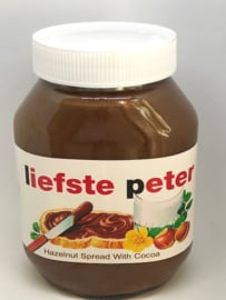 Label MAXI nutella