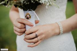 Bruidsboeketbedel DUBBEL