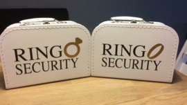 Koffertje voor ringen - RING SECURITY