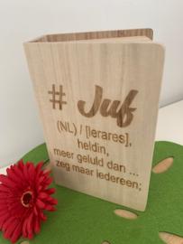 Box/Boek JUF